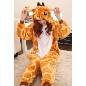 PJM13-99 Pijama intreaga kigurumi, model girafa