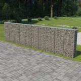 Perete gabion cu capace, 600 x 30 x 150 cm, oțel galvanizat