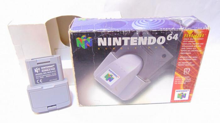 Nintendo 64 N64 rumble pak NUS-013 cutie originala