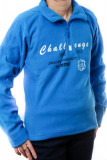 Cumpara ieftin Hanorac polar albastru, Casual Fashion