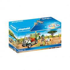 Playmobil Family Fun - Veterinar cu cart medical