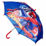 Umbrela automata pentru copii, model spiderman, multicolor, 68×78 cm