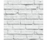 Tapet White Brick 53x1005 cm