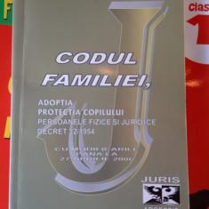 CODUL FAMILIEI ADOPTIA PROTECTIA COPILULUI PERSOANELE FIZICE SI JURIDICE