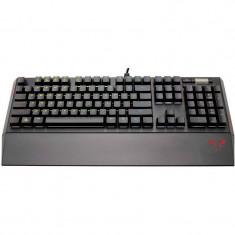 Tastatura Gaming Mecanica Riotoro Ghostwriter Cherry Black RGB Black