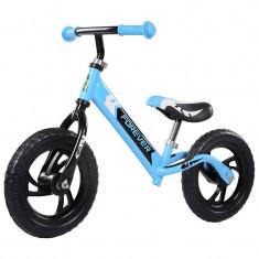 Bicicleta fara pedale (pedagogica) FIVE Libra scaun reglabil Bleu