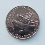 VATICAN  -  100 Lira 1977  -  aUNC
