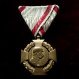 Decorație austro-Ungara 1848 1908, medalie veche originală Austria aniversara