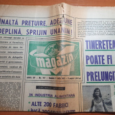 magazin 3 iulie 1971-articol si foto momente inedite din bucurestiul de altadata