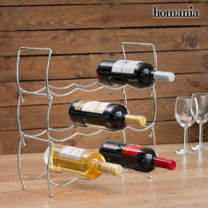 Suport pentru Sticle Stivuibil Homania (12 Sticle)