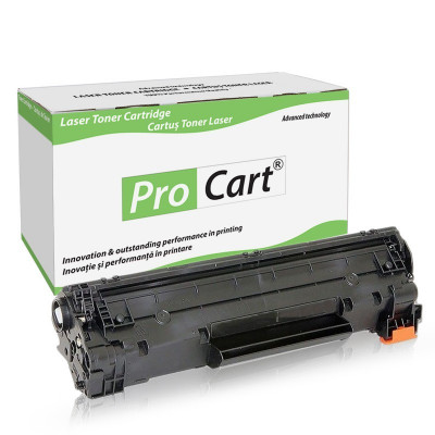 Cartus toner compatibil Canon CRG-715 negru Procart foto