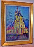 Pictura veche biserica Sfantul Nicolae din Brasov, Religie, Ulei, Realism