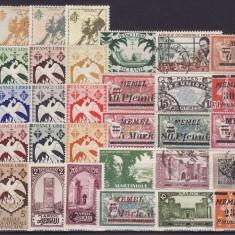 1829  - lot timbre Colonii franceze