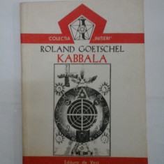 KABBALA - ROLAND GOETSCHEL