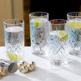 Set 6 pahare long drink RCR Melodia 360 ml