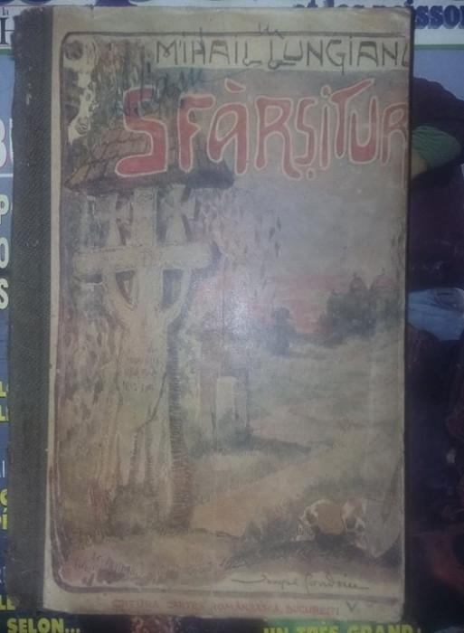 Carte veche,SFARSITURI,MIHAIL LUCHIAN,Stare conform foto,T.GRATUIT
