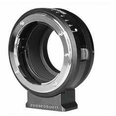 Meike MK-NF-P adaptor montura Nikon F la Micro 4/3(MFT)
