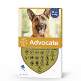 Advocate 400 Caine (25-40 kg), 3 pipete, Bayer