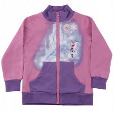Hanorac Elsa&Olaf Frozen Disney, bumbac, Roz/Violet, pentru fetite