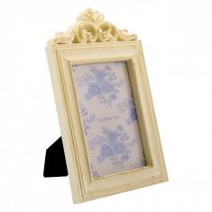 Rama foto, model vintage, 17×28 cm, auriu
