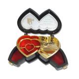 Caseta bijuterii, chic inimioare