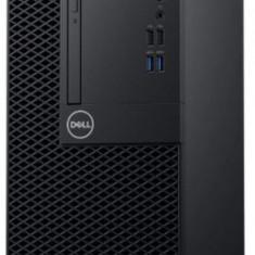 Calculator Sistem PC Dell OptiPlex 3060 MT (Procesor Intel® Core™ i3-8100 (6M Cache, 3.60 GHz), Coffee Lake, 8GB, 1TB HDD @7200RPM, Intel® HD Graphics