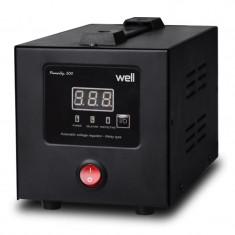 Stabilizator de tensiune cu releu Well, 500 VA