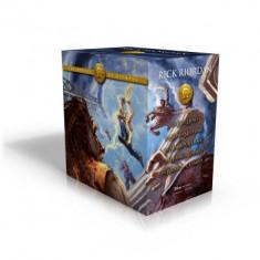 The Heroes of Olympus Paperback Boxed Set foto