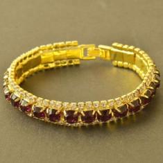Bratara Purple Crystal