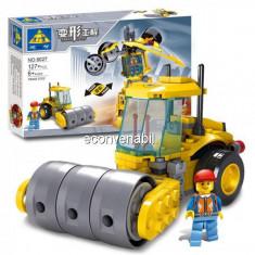Joc Tip Lego Set Constructie Robot Compactor Transformer Kazi 8027