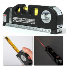Boloboc cu laser si ruleta de 2.5 m