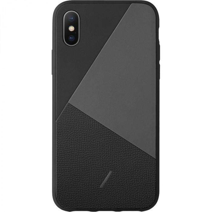 Husa Capac spate Clic Marquertry Negru Apple Iphone X/Xs