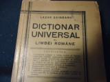 DICTIONAR UNIVERSAL-LAZAR SAINEANU-872 PG- ORTOGRAFIA ACADEMIEI ROMANE-