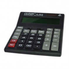 Calculator electronic CLTON CL-2012, afisaj mare
