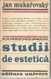 Cumpara ieftin Studii De Estetica - Jan Mukarovsky - Tiraj: 2030 Exemplare