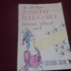 AL DUMAS - JOSEPH BALSAMO LANCEA SFANTA VOL 1