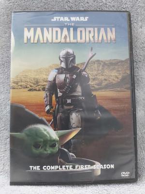 Star Wars - The Mandalorian - Sezonul 1 - 4 DVD subtitrate in limba romana foto