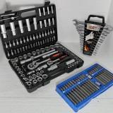 Set-Trusa Scule-CRV-Chei/Tubulare/Combinate/Biti/Torx/Clicheti-160PCS