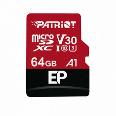 Card de memorie Patriot EP A1 Series MicroSDXC V30 64GB Clasa 10 UHS-I U3