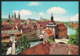 GERMANIA - BAMBERG - BLICK AUF DIE ALTSTADT - CP CIRCULATA #colectosfera