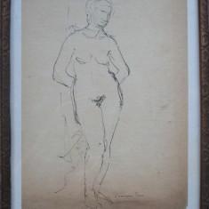 Nud - semnat  Leonor Fini
