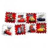 Cumpara ieftin Covor puzzle din spuma Fun Cars 3 Race of a Lifetime 8 piese, Knorrtoys