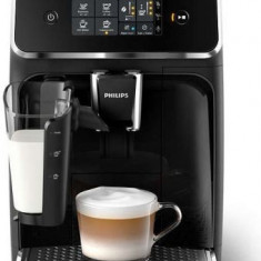 Espressor automat Philips Series 2200 EP2231/40, 1800W, 15 bari, 1.8 l, Sistem AquaClean, Ecran Tactil (Negru)