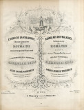 Jean André Wachmann - L'echo de la Valachie pentru prinţesa Alexandrina Ghica