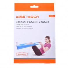 Banda de rezistenta Yoga, 120 x 15 cm