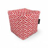 Cumpara ieftin Fotoliu Units Puf (Bean Bags) tip cub, impermeabil, model rosu si alb