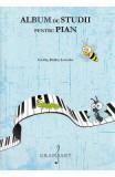 Album de studii pentru pian Vol.2 - Carl Czerny, Stephen Heller, Antoine-Henry Lemoine