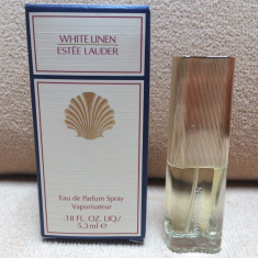 NOU! Mini Parfum White Linen by Estee Lauder (5,3ml), Apa de parfum, Mai putin de 10 ml