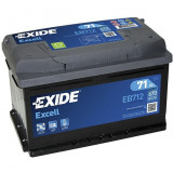 Baterie auto Excell 71Ah, 670A, 60 - 80, Exide
