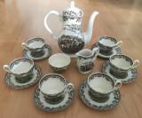 Set - ceai / cafea - portelan Englezesc - Myott - Country Life - 1982 - 6 pers